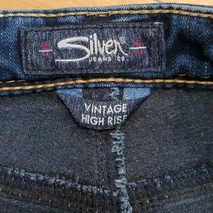 Silver Jeans Shorts - Silver Jeans Vintage High Rise Shorts